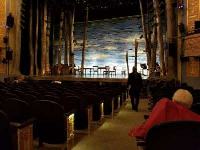 Gerald Schoenfeld Theatre, section: Orchestra Right, row: L, seat: 2