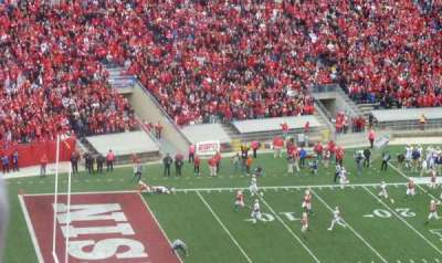 Camp Randall Stadium, section: JJ, row: 26, seat: 10