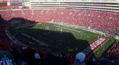 Camp Randall Stadium, section: AA, row: 36, seat: 14