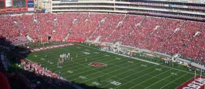 Camp Randall Stadium, section: AA, row: 36, seat: 15