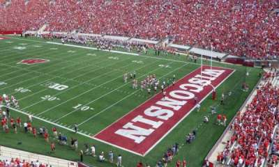 Camp Randall Stadium, section: AA, row: 2, seat: 10