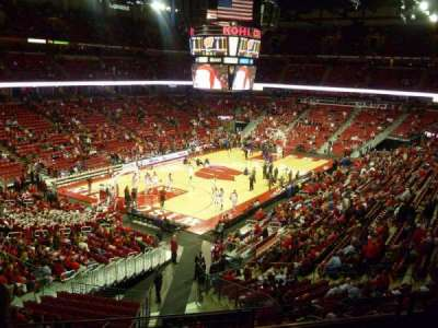 Kohl Center, section: 212, row: D, seat: 14