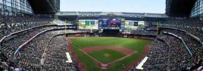 Miller Park, section: 421, row: 16, seat: 5