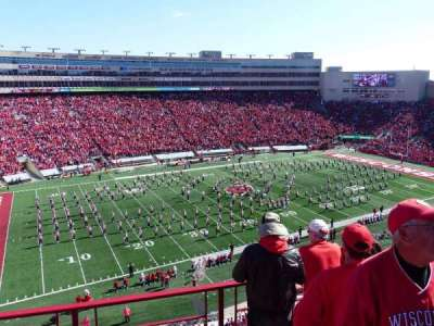 Camp Randall Stadium, section: II, row: 5, seat: 2