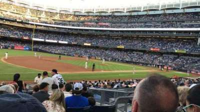 Yankee Stadium, section: 127B, row: 8, seat: 8