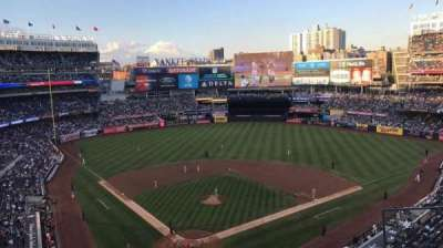 Yankee Stadium, section: 320A, row: 4, seat: 8