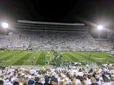 Beaver Stadium section WF