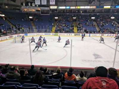 Santander Arena, section: 107, row: G, seat: 5