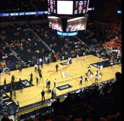 John Paul Jones Arena, section: 305, row: R, seat: 12