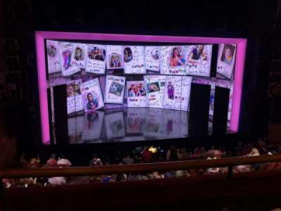 August Wilson Theatre, section: Front Center Mezzanine, row: B, seat: 118