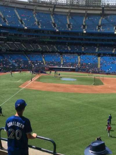 Rogers Centre, section: 208, row: 5, seat: 5