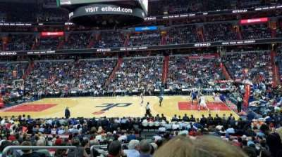 Capital One Arena, section: 101, row: R, seat: 3