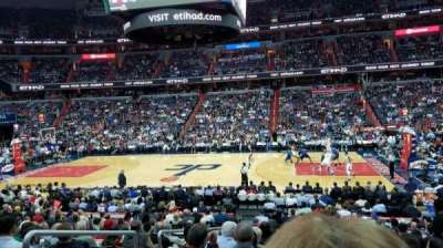 Verizon Center, section: 101, row: R, seat: 3