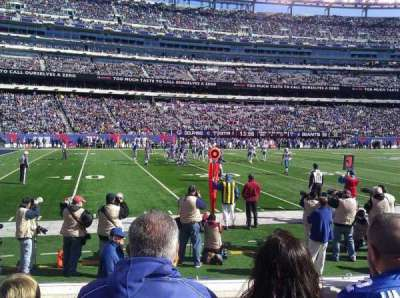 MetLife Stadium  section 142