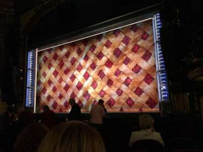 Brooks Atkinson Theatre, section: Orchestra, row: K, seat: 16