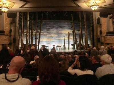 Gerald Schoenfeld Theatre, section: Orchestra, row: R, seat: 105