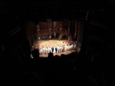 CIBC Theatre, section: Balcony L, row: D