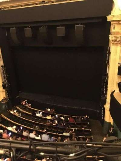 Hudson Theatre, section: Balcony, row: A, seat: 6