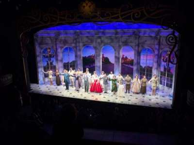 Broadhurst Theatre, section: Mezzanine, row: D, seat: 2