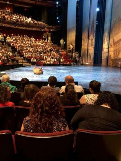 Vivian Beaumont Theater, section: Orchestra, row: F, seat: 115