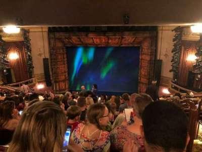 St. James Theatre, section: Mezz, row: Q, seat: 101