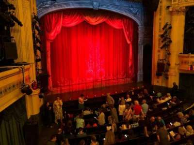 Hudson Theatre, section: Dress Circle, row: A, seat: 7