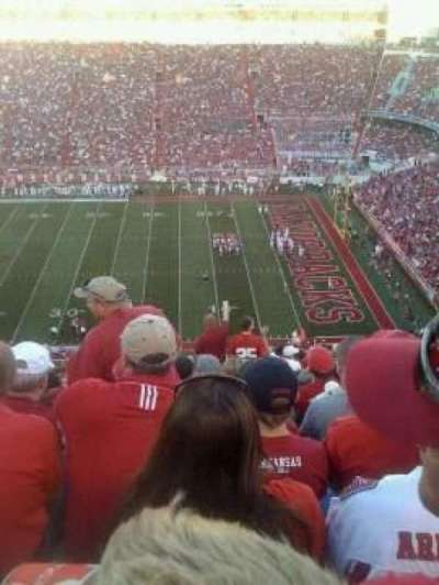 Razorback Stadium, section: 502