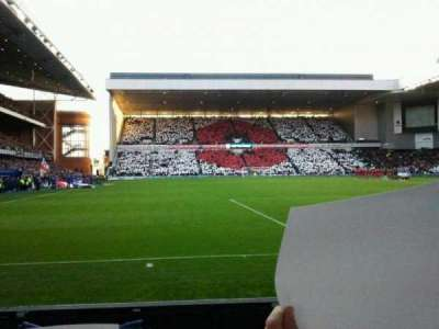 Ibrox Park, section: CF5, row: B, seat: 0133