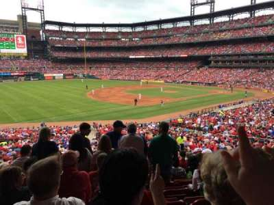 Busch Stadium section 162