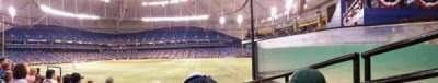 Tropicana Field section 150