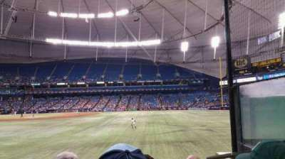 Tropicana Field, section: 150, row: W, seat: 8