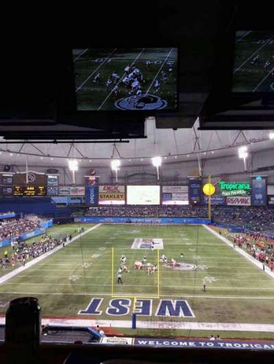 Tropicana Field section Suite 23