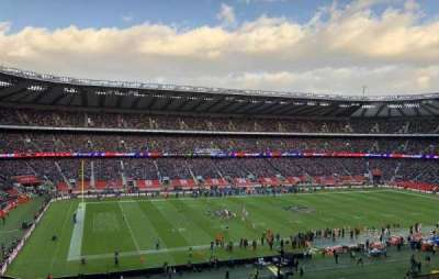 Twickenham Stadium, section: M11, row: 66, seat: 290