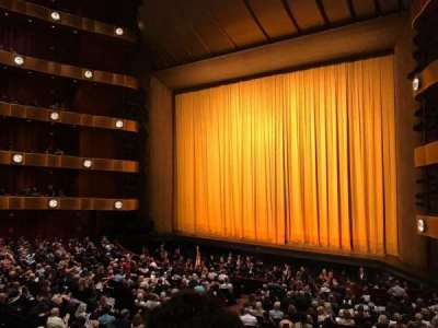 David H. Koch Theater, section: 1st Ring, row: B, seat: 26