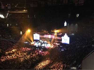 Barclays Center, section: 212, row: 12, seat: 1