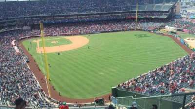 Angel Stadium, section: V540, row: N, seat: 4