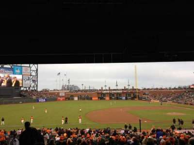 AT&T Park, section: LB 125, row: 38, seat: 3