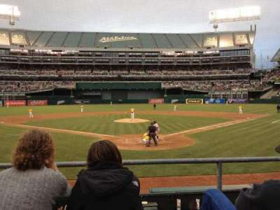 Oakland Alameda Coliseum section MVP Box 117