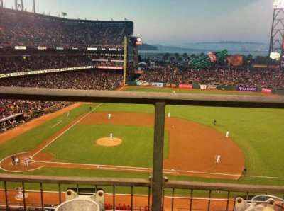 AT&T Park section VB 308