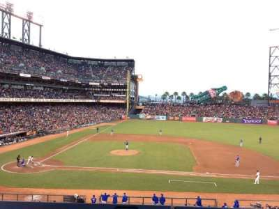 AT&T Park, section: 209, row: A, seat: 5