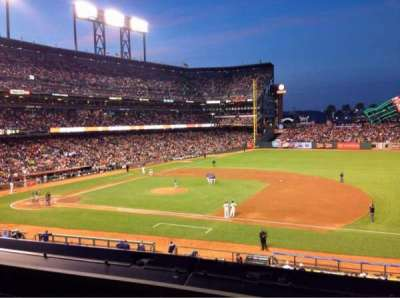 AT&T Park, section: 207, row: A, seat: 2