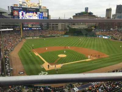 Comerica Park section 325
