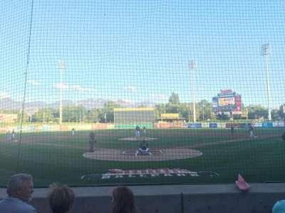 Smith's Ballpark, section: 13, row: M, seat: 8