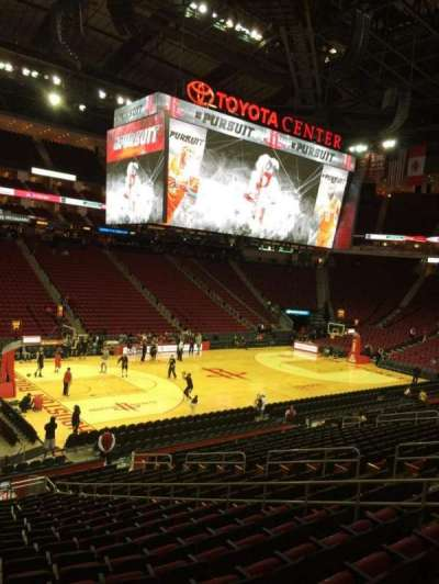 Toyota Center section 110