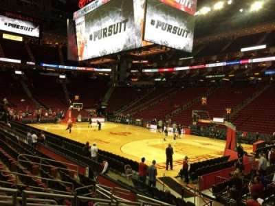 Toyota Center, section: 103, row: 10, seat: 8
