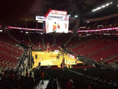 Toyota Center section 101