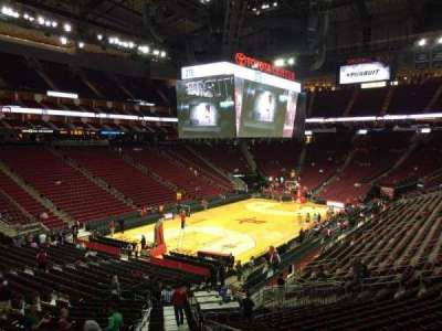 Toyota Center section 125