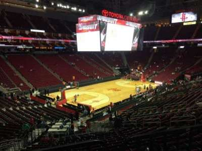 Toyota Center section 124