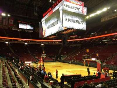 Toyota Center section 116