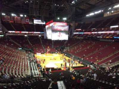 Toyota Center section 115